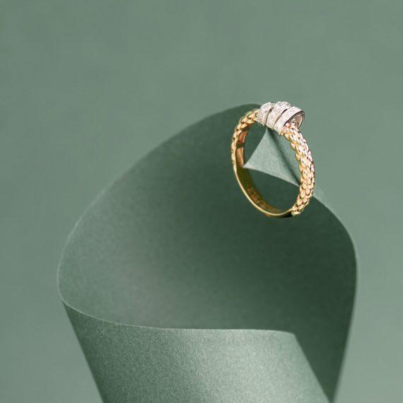 Anello Oro e Diamanti COI Gold Art
